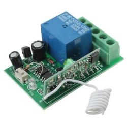 - 1 Kanal 433 MHz Kablosuz RF Alıcılı Röle Kartı - Kutulu