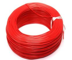 - 100 Metre Tek Damarlı Montaj Kablosu - Kırmızı