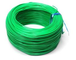 - 100 Metre Tek Damarlı Montaj Kablosu - Yeşil