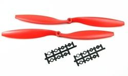 - 1045 Kırmızı Plastik CW/CCW Pervane Seti