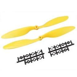 - 1045 Sarı Plastik CW/CCW Pervane Seti