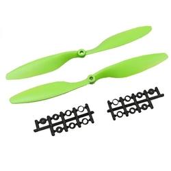 - 1045 Yeşil Plastik CW/CCW Pervane Seti