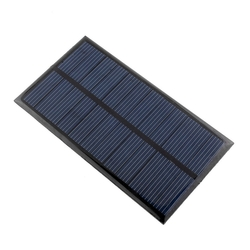 - 12 V 200mA Güneş Pili - Solar Panel 110x140mm
