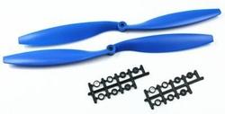 - 1245 Plastik CW-CCW Pervane Seti - Mavi