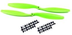 - 1245 Plastik CW-CCW Pervane Seti - Yeşil