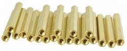 - 12mm Dişi-Dişi Metal Distans - 10 Adet