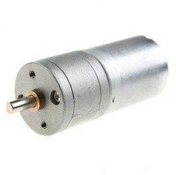 - 12V 25mm 1030 Rpm Yüksek Güçlü 9.7:1 Redüktörlü DC Motor