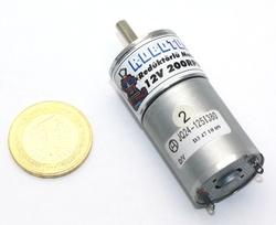 12V 25MM 200Rpm Redüktörlü DC Motor - Thumbnail