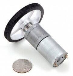 12V 25mm 560 Rpm 9.7:1 Redüktörlü DC Motor