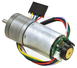 - 12V 75RPM (100:1) 37D Metal Gear Motor HP Enkoderli