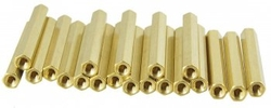 - 15mm Dişi-Dişi Metal Distans - 10 Adet