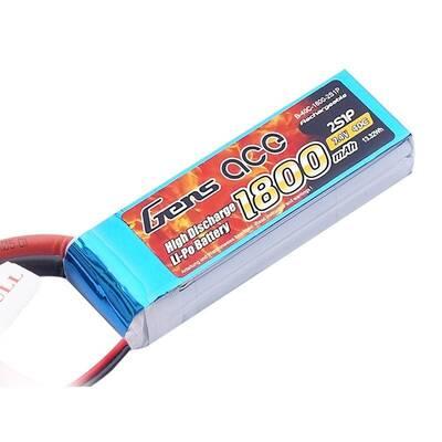 1800mAh 7.4V 25C 2S LiPo Batarya   Lipo Pil