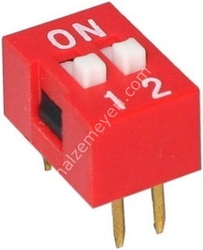- 2 Pin Dip Switch