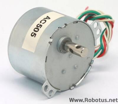 220V 10 Rpm Senkron Motor