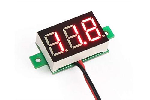 2.5V - 30V Mini Dijital Voltmetre