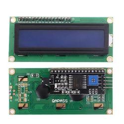 - 2x16 LCD Ekran Mavi + I2C Arayüz Modülü