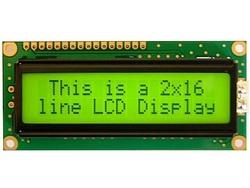 - 2x16 LCD Ekran Yeşil