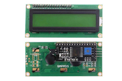 - 2x16 LCD Ekran Yeşil + I2C Arayüz Modülü