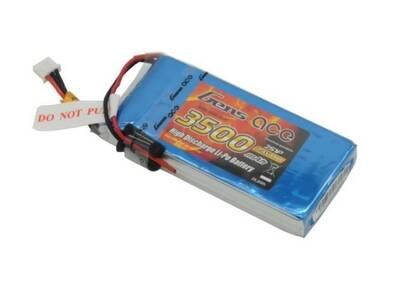 3500mAh 7.4V RX 2S1P LiPo Batarya | Lipo Pil