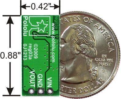 4-25V Ayarlanabilir Voltaj Regülatör Kartı