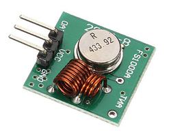 - 433 MHz RF Kablosuz Verici(Transmitter)