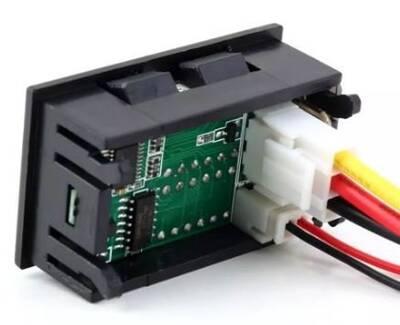 4,5V - 30V 100A Panelmetre Voltmetre Ampermetre