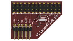 - 4D Raspberry Adaptör Shield