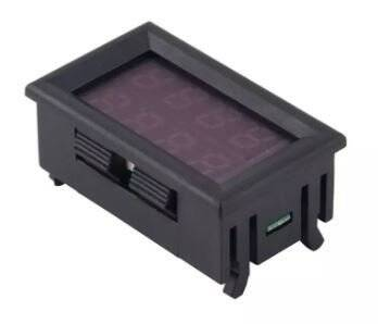 4V - 30V 10A Panelmetre Voltmetre Ampermetre