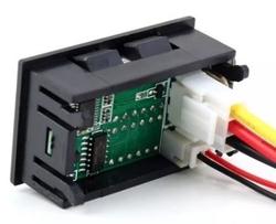 4V - 30V 10A Panelmetre Voltmetre Ampermetre - Thumbnail