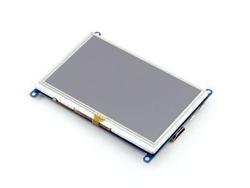 - 5'' HDMI Rezistif Dokunmatik LCD Ekran - 800x480 (B)