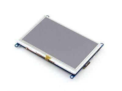 5'' HDMI Rezistif Dokunmatik LCD Ekran - 800x480 (B)