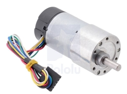 - 64 CPR Enkoderli 50:1 Metal Dişli Motor