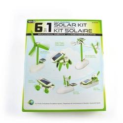 6′lı Güneş Enerjili Robot Eğitim Kiti - Solar Kit 6 in 1 - Thumbnail