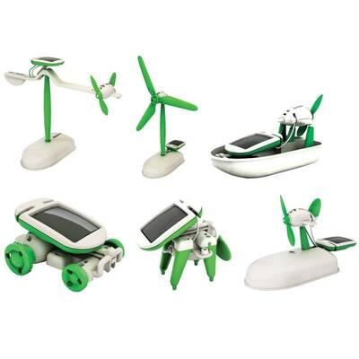 6′lı Güneş Enerjili Robot Eğitim Kiti - Solar Kit 6 in 1