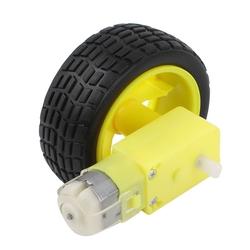 6V 250RPM Motor ve Tekerlek Seti - Thumbnail