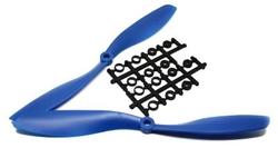 - 8045 Plastik CW-CCW Pervane Seti - Mavi