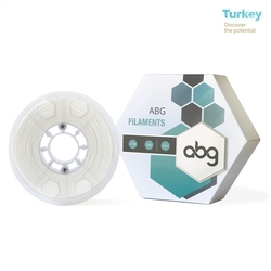 - ABG 1.75mm ABS Beyaz Filament
