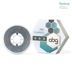 - ABG 1.75mm ABS Gümüş Filament