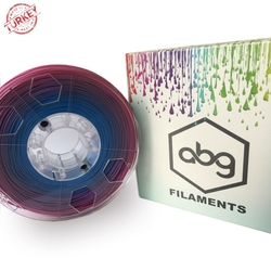 - ABG 1.75mm ABS MultiColour Filament