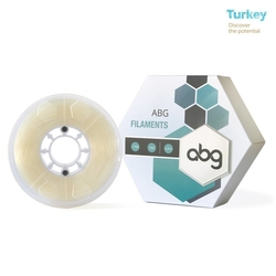 - ABG 1.75mm ABS Natural Transparan Filament