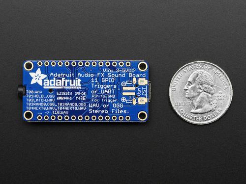 Adafruit FX Ses Kartı - 16MB Flash ile WAV / OGG Tetikleyici