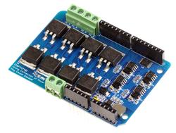 - Arduino 2 Kanal Motor Sürücü Shield