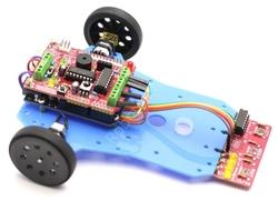 Jsumo - Arduino Basit Çizgi İzleyen Kiti - Arduline (Demonte Montajsız)