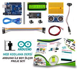 - Arduino ile Boy Ölçer Proje Seti