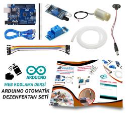 - Arduino ile Otomatik Dezenfektan Proje Seti