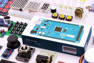 Arduino Mega Gelişmiş Set - Orjinal Mega