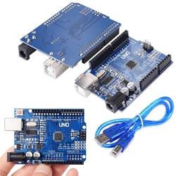Arduino Uno R3 SMD + USB Kablo Hediyeli - Thumbnail