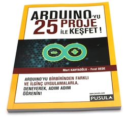 - Arduino'yu 25 Proje ile Keşfet
