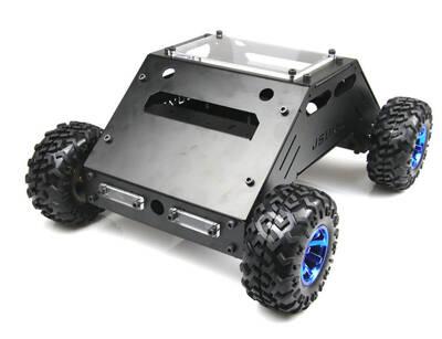 ATLAS 4x4 Arazi Robotu - Mekanik Kit