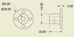 Bağlantı Aparatı 6mm Delikli (2 Adet) - Thumbnail